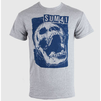t-shirt metal men's Sum 41 - Skull Sports - LIVE NATION, LIVE NATION, Sum 41