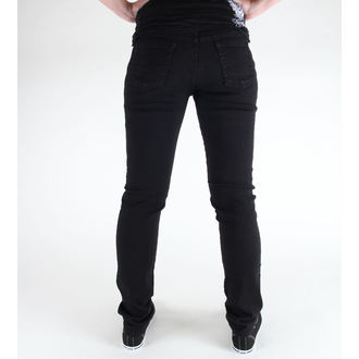 pants (unisex) 3RDAND56th - Hipster Slim Fit - Black - JM372