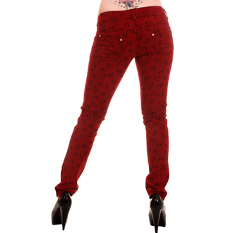 pants women 3RDAND56th - Swallow Skinny Jeans - Wine - JM1118