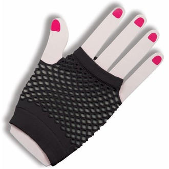 gloves (sleeve) Legwear - Short Fishnet - Black, LEGWEAR