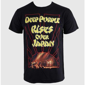 t-shirt metal men's Deep Purple - Rises Over Japan - PLASTIC HEAD - PH5744