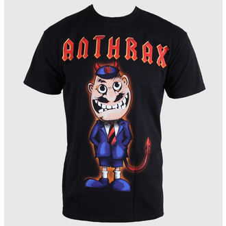 t-shirt metal men's Anthrax - TNT Cover - ROCK OFF, ROCK OFF, Anthrax