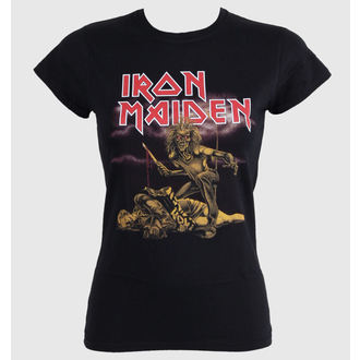 t-shirt metal women's Iron Maiden - Slasher - ROCK OFF - IMTEE27LB