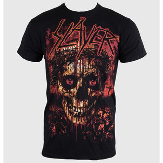t-shirt metal men's Slayer - Crowned Skull - ROCK OFF - SLAYTEE11MB