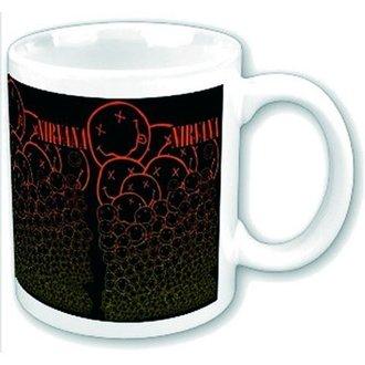 cup Nirvana - Cascading Smileys - ROCK OFF, ROCK OFF, Nirvana
