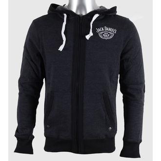 hoodie men's Jack Daniels - Grey - JACK DANIELS - HD255613JDS