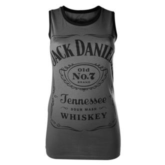 top women Jack Daniels - Charcoal - BIOWORLD, JACK DANIELS