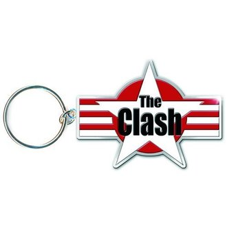 key ring (pendant) The Clash - Star & Stripes - ROCK OFF - CLKEY01