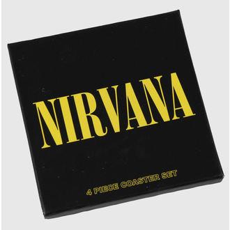 beer coasters Nirvana - coaster set - ROCK OFF, ROCK OFF, Nirvana