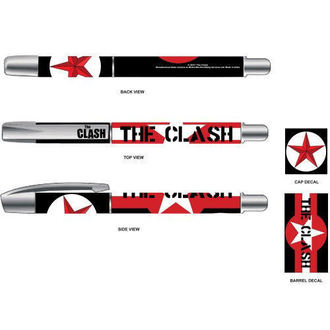 Pen The Clash - Star & Stripes - ROCK OFF - CLPEN01