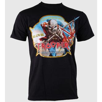 t-shirt metal men's Iron Maiden - Trooper Robinsons Beer - ROCK OFF, ROCK OFF, Iron Maiden