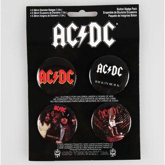 badges AC / DC - CDV, C&D VISIONARY, AC-DC