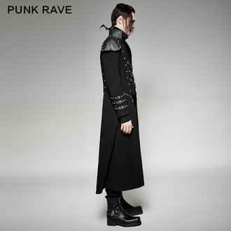 men's coat PUNK RAVE - Daemon, PUNK RAVE