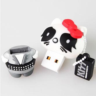 flash disc USB 8GB (pendant) KISS - HELLO KITTY - The Catman, HELLO KITTY, Kiss