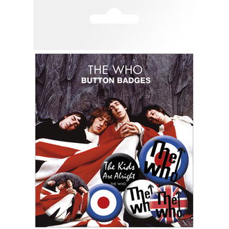 badges The Who - Lyrics And Logos, Who
