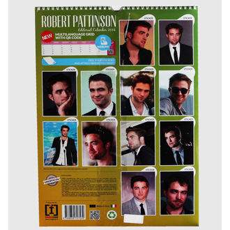 calendar 2014 Robert Pattinson, NNM