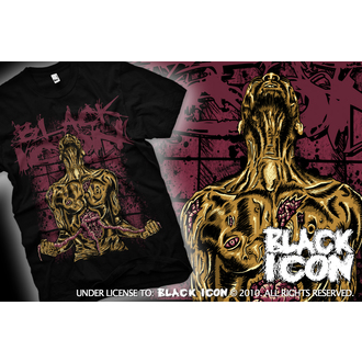 t-shirt hardcore men's - Suicide - BLACK ICON, BLACK ICON