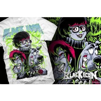 t-shirt hardcore men's - Scooby - BLACK ICON, BLACK ICON