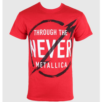 t-shirt metal men's Metallica - Never - LIVE NATION, LIVE NATION, Metallica