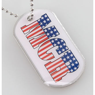 collar (dog tag) My Chemical Romance - Americana - RAZAMATAZ