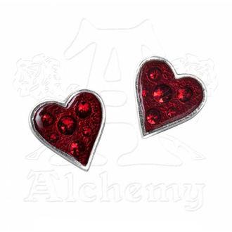 earrings ALCHEMY GOTHIC - Heart's Blood - E332