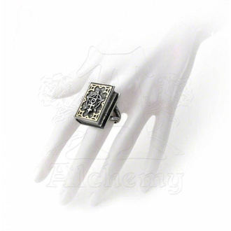ring ALCHEMY GOTHIC - Dee's Book of Angel Magic Stash - R187