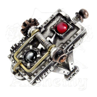 ring ALCHEMY GOTHIC - Van Helsing Kinetic Vampire, ALCHEMY GOTHIC