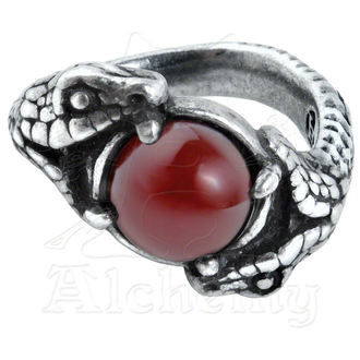 ring ALCHEMY GOTHIC - Viperstone - R193