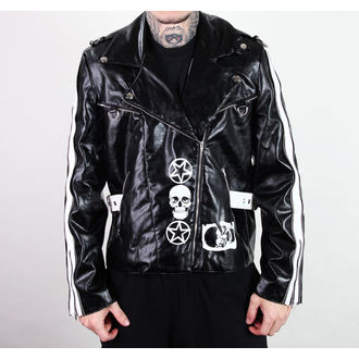 leather jacket men's - Rock Jacket Lacrimas Profundere - ADERLASS, ADERLASS