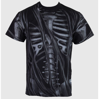t-shirt men's - Skeleton - ALISTAR - ALI015