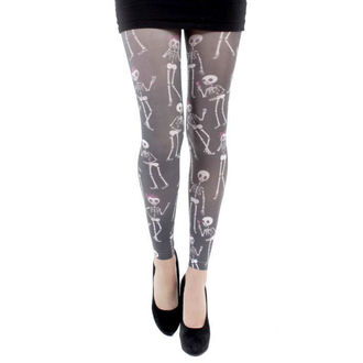 leggings (tights) PAMELA MANN - Love Bones Footles Tights - Multi - 036