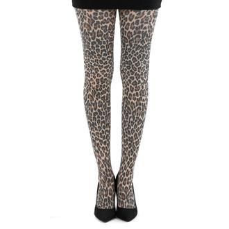 tights PAMELA MANN - Small Leopard Tights - Natural - 057