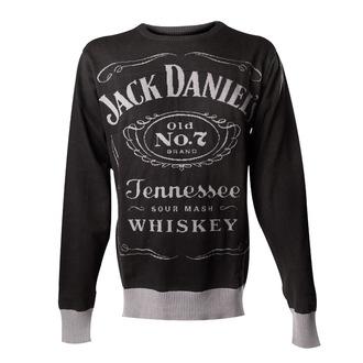 sweater men's Jack Daniels - Knitted Sweater - Black - BIOWORLD - KW001014JDS