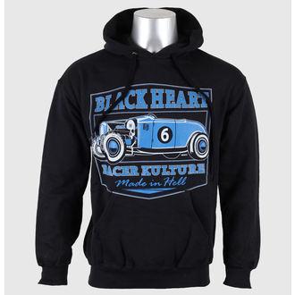 hoodie men's - Roadster - BLACK HEART -