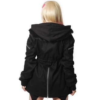 jacket women's POIZEN INDUSTRIES - Insomnia - Black
