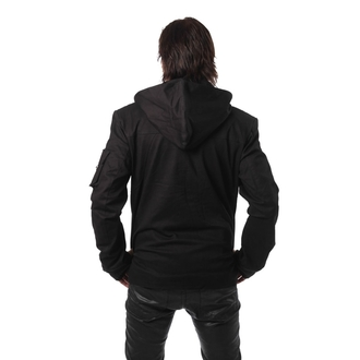 jacket men POIZEN INDUSTRIES - No Excuse - Black
