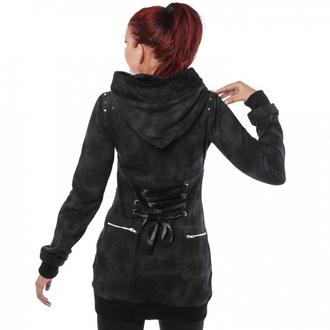 jacket/sweatshirt women's POIZEN INDUSTRIES - Shaz - Grey - POI137