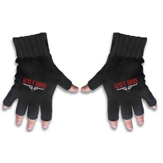 gloves fingerless Guns N Roses - Logo & Pistols - RAZAMATAZ, RAZAMATAZ, Guns N' Roses