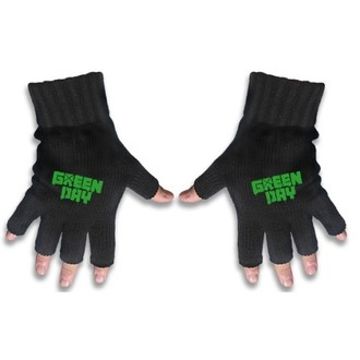 gloves fingerless Green Day - Logo - RAZAMATAZ, RAZAMATAZ, Green Day