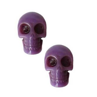 earrings KREEPSVILLE SIX SIX SIX - Skull - Purple, KREEPSVILLE SIX SIX SIX