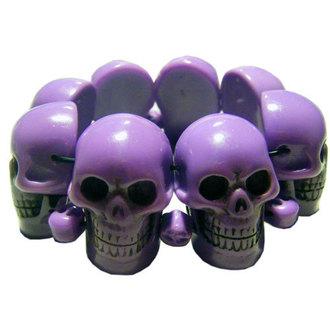 bracelet KREEPSVILLE SIX SIX SIX - Skull - Purple, KREEPSVILLE SIX SIX SIX