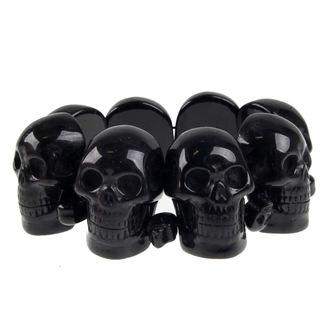 bracelet KREEPSVILLE SIX SIX SIX - Skull - Black, KREEPSVILLE SIX SIX SIX