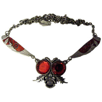 necklace KREEPSVILLE SIX SIX SIX - Return Of The Fly - Red, KREEPSVILLE SIX SIX SIX