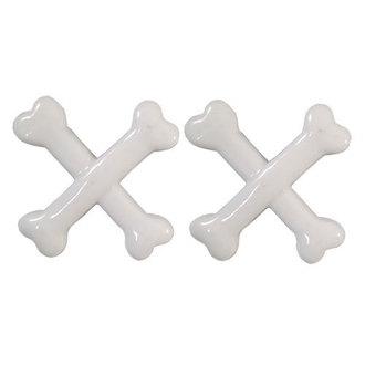 clips KREEPSVILLE SIX SIX SIX - Crossbones - White, KREEPSVILLE SIX SIX SIX