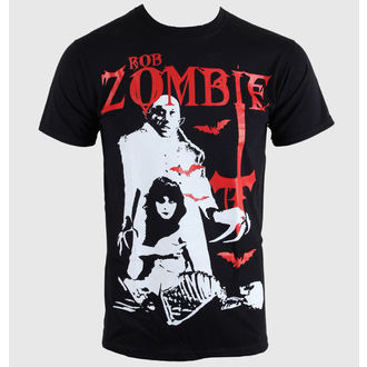 t-shirt metal men's Rob Zombie - - ROCK OFF, ROCK OFF, Rob Zombie