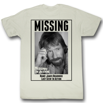film t-shirt men's NEZVĚSTNÍ V BOJI - Missing - AMERICAN CLASSICS - MIA519
