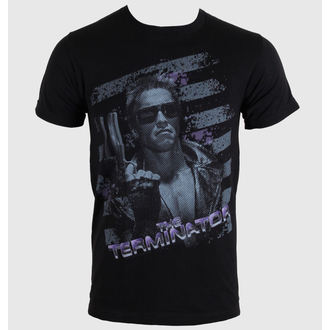 film t-shirt men's Terminator - Purple - AMERICAN CLASSICS - TER509