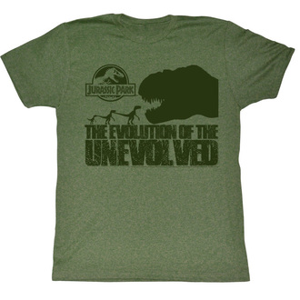 film t-shirt men's Jurassic Park - Evolve Only To Die - AMERICAN CLASSICS - JUR5128