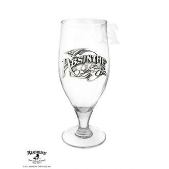 glass ALCHEMY GOTHIC - La Belle Epoch Absinthe Tumbler, ALCHEMY GOTHIC