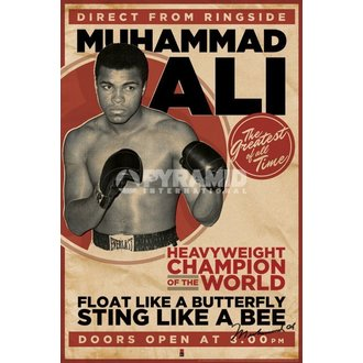 poster Muhammad Ali - Vintage - Corbis - PYRAMID POSTERS, PYRAMID POSTERS